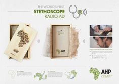 South Africa Print ad: Africa Health Placements: Stethoscope Radio Ad