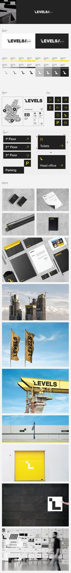 Levels// Contracting est. on Behance