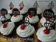 HONEY CAKES: Red Velvet Cupcakes