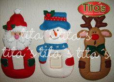 Christmas Mesh Wreaths, Felt Christmas Decorations, Crochet Christmas Ornaments, Christmas Mom, Christmas Stockings, Christmas Crafts, Felt Crafts, Halloween, Google
