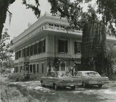 San Francisco Plantation House, St. John the Baptist Parish, LA :: Cole Coleman Louisiana Photographs