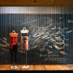 Anthropologie USA – Earth Day Windows 2016 | International Visual