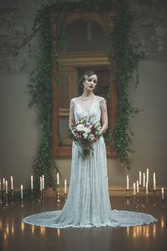 Gorgeous Gatsby Editorial from Ally Kristensen and Sue Gallo — Vineyard Bride // Southern Ontario's Wedding Resource Great Gatsby Wedding, 1920s Wedding, Art Deco Wedding, Glamorous Wedding, Wedding Bride, Wedding Dresses, Gatsby Theme, Wedding Shit, Formal Wedding