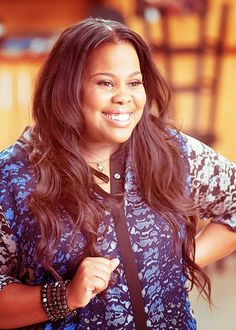 Amber Riley (February 15, 1986) American actress, o.a. known from 'Glee'.