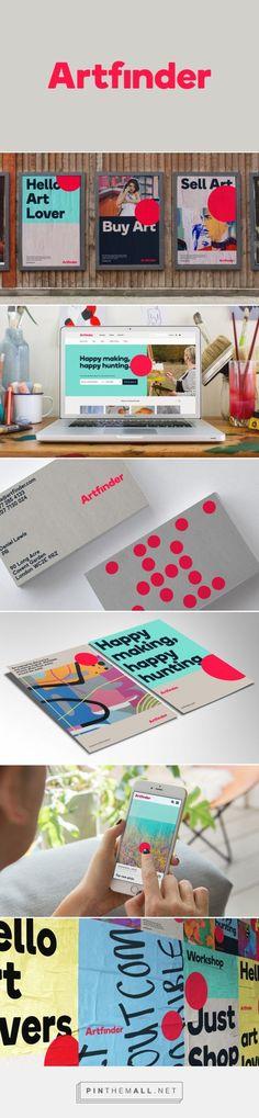 "DesignStudio breaks from ""cold"" art world with Artfinder rebrand - Design Week Design Week - created via https://pinthemall.net"