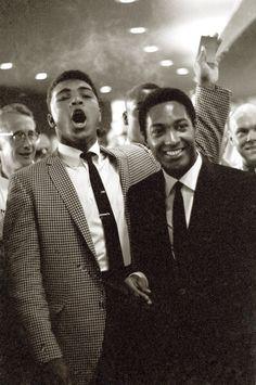 Muhammad Ali & Sam Cooke they both were fieirce n the haydays
