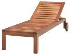 ÄPPLARÖ Chaise Lounge modern patio furniture and outdoor furniture