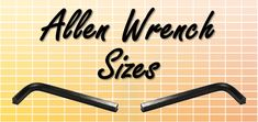 Allen Wrench Conversions Chart | Hex Key Size Guide | SAE & MM Metric Conversion Chart, Wrench Sizes, Chart Tool, Drill Bit Sizes, Hex Key, Homemade Tools, Hand Tools, Metal Working