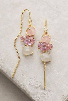 Ombre Breeze Threaders Earrings Jewelry - August 17 2019 at Cute Jewelry, Jewelry Box, Hair Jewelry, Kids Jewelry, Jewelry Ideas, Beaded Jewelry, Penelope, Ring Verlobung, Schmuck Design
