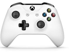 Xbox Wireless Controller - White - Experience the enhanced comfort and feel of the new Xbox Wireless Controller, featuring a sleek, streamlined design and textured grip. Enjoy custom button mapping* and up to twice the wireless range. Plug in any compatible headset with the 3.5mm stereo headset jack. And with Bluetooth technology*...
