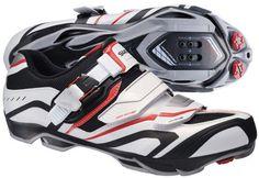 Shimano SH-XC60 MTB shoes white/black/red