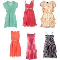 cute summer dresses. All but the bottom right corner.