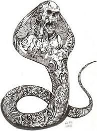 yılan dövmesi ile ilgili görsel sonucu