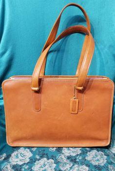 cea4d2c2eba3 COACH Brown Leather Women's Briefcase/Laptop Bag/Shoulder Bag MODEL NBR  209-3122