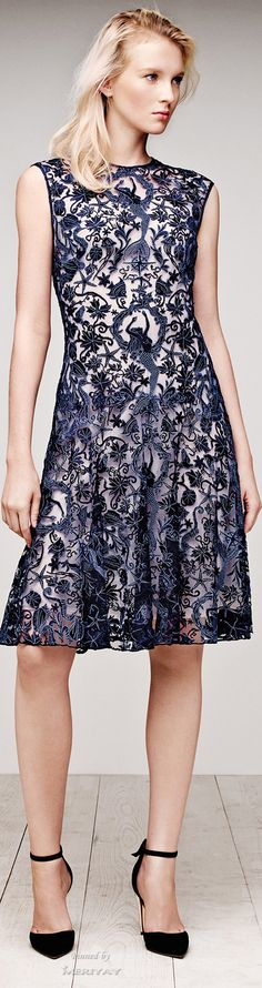 initial thoughts: hey kinda cute...closer inspection: SWEET AUNT JEMIMA THATS MERMAIDS!! I must own (Tadashi Shoji .Resort 2015.)