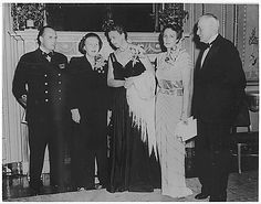 Eleanor Roosevelt and the Royal Family of Norway with Princess Juliana