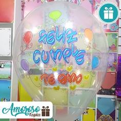 Christmas Bulbs, Balloons, Holiday Decor, Instagram, Frases, Birthday Balloons, Decorated Gift Bags, Ornaments, Paint Balloons