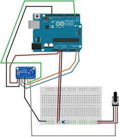 Arduino ADS1115 ADC Breakout Board Circuit Analog To Digital Converter, 16 Bit, Circuits, Arduino, Board, Planks