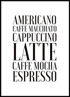 Coffee, poster