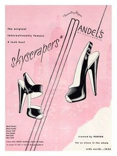 34c86b960dacd 12 Best High heel ads images in 2014 | Boots, Fashion shoes, Shoe boots