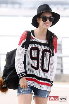 Song Ji Hyo - Airport Fashion