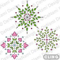 CL-GD007 Ornamental Centerpieces Set (Cling)  #DeNamiParty
