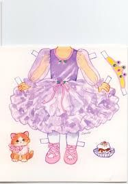 Image result for penny paper doll