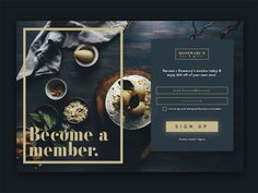 Sign Up Card UI