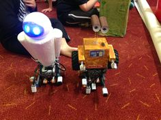Wall-E inspired robots from Robocup Junior NSW Wall E, Robot Design, Problem Solving, Robots, Competition, Lego, Teaching, Education, Inspired