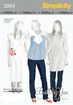 Sew Tessuti Blog - Sewing Tips & Tutorials - New Fabrics, Pattern Reviews: Pattern Review - Simplicity 3964