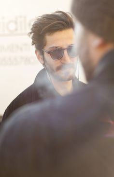 Sunglasses beard fashion men tumblr Style streetstyle jacket jackets hair