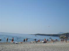 Beach at Camyuva Turkey
