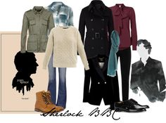 """Sherlock BBC"" by kwerring on Polyvore"