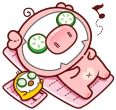 Create your own personal Sticker packs for WhatsApp! Send cool stickers in WhatsApp and spice up the boring group chats! Share single stickers or entire sticker packs! This Little Piggy, Little Pigs, Kawaii Drawings, Cute Drawings, Pig Images, Pig Drawing, Pig Illustration, Mini Pigs, Kawaii Doodles