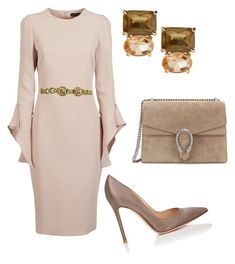 """Без названия #3670"" by claire-hamilton-bristol ❤ liked on Polyvore featuring Tom Ford, Gucci and Gianvito Rossi"