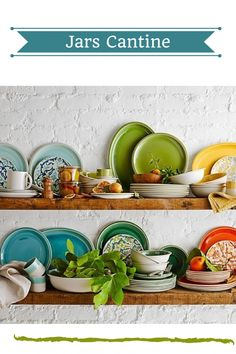 Find the best places to register for wedding gifts in our jars cantine selecting wedding registry items 6 colourful dinnerware sets from mygiftcurator junglespirit Image collections