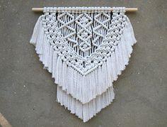 Modern macrame wall hanging Weaving wall decor Boho decor