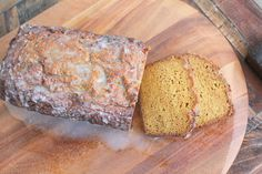 Pumpkin Bread, low carb, gluten free