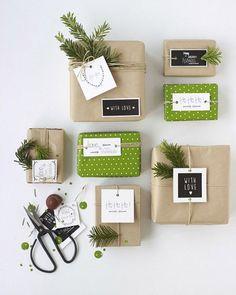 Idées pour de jolis emballages cadeaux