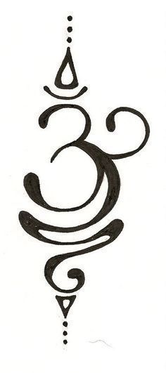 Om Tattoo Drawing Calligraphie arabe