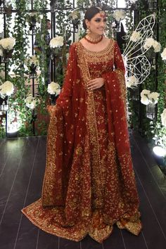 Ansab Jahangir is one of the bright name in Pakistan Fashion industry. Shop ladies latest collection from Ansab jahangir online store. Asian Bridal Dresses, Pakistani Wedding Outfits, Pakistani Dresses Casual, Indian Bridal Outfits, Indian Bridal Fashion, Pakistani Bridal Dresses, Indian Fashion Dresses, Dress Indian Style, Pakistani Wedding Dresses