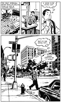 City of Glass - Paul Auster/David Mazzucchelli