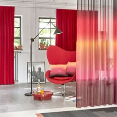 Homemade A House of Happiness. Ombre Effect, Egg Chair, Window Coverings, Pantone, Colours, Windows, Curtains, Homemade, House