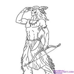 american indian drawings - Yahoo Image Search Results