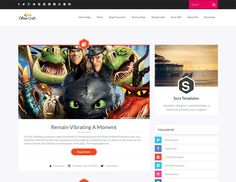 Best Free Blogger Templates for Personal Blog - SoraCraft - #Blogger #template #design #webdesign #theme - www.designolymp.com