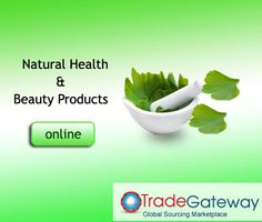 Natural health and beauty products are available in the huge variety in the market. The people trust natural products for both their cosmetic use and also for the consumption for healthy living. The challenge for the buyers is to find… Natural Products, Beauty Products, Online Trading, Natural Health, Health And Beauty, Health Care, Trust, Healthy Living, Challenge