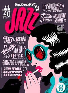 design work life » 2010 Jazz Posters