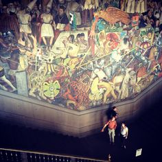 1000 images about secrets of mexico city on pinterest for Diego rivera famous mural
