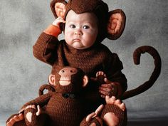Monkey See, Monkey Do #halloween #kidcostumes
