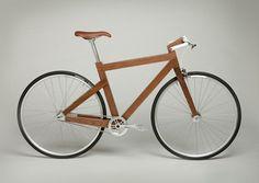 wooden fixie